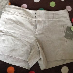 Anthropologie Cartonnier linen shorts